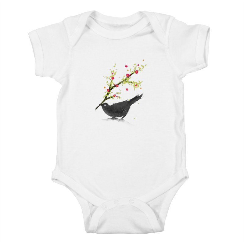 Spring Is Coming Kids Baby Bodysuit by nicebleed