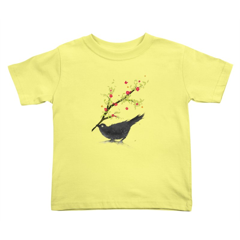 Spring Is Coming Kids Toddler T-Shirt by nicebleed