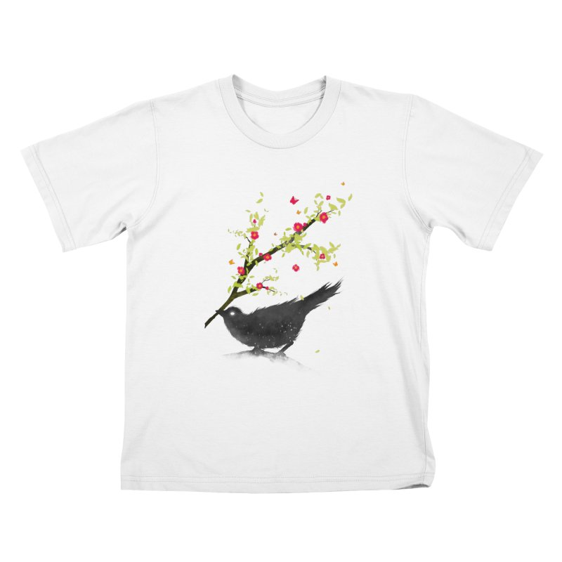 Spring Is Coming Kids T-Shirt by nicebleed