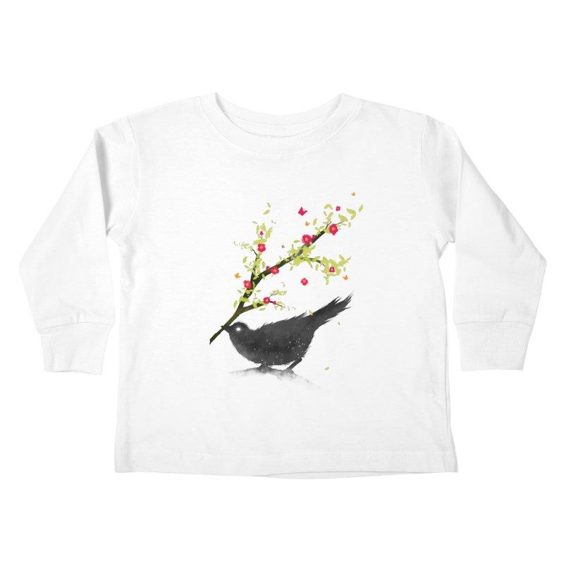 Spring Is Coming Kids Toddler Longsleeve T-Shirt by nicebleed