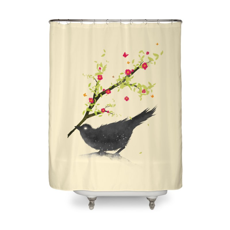 Spring Is Coming Home Shower Curtain by nicebleed