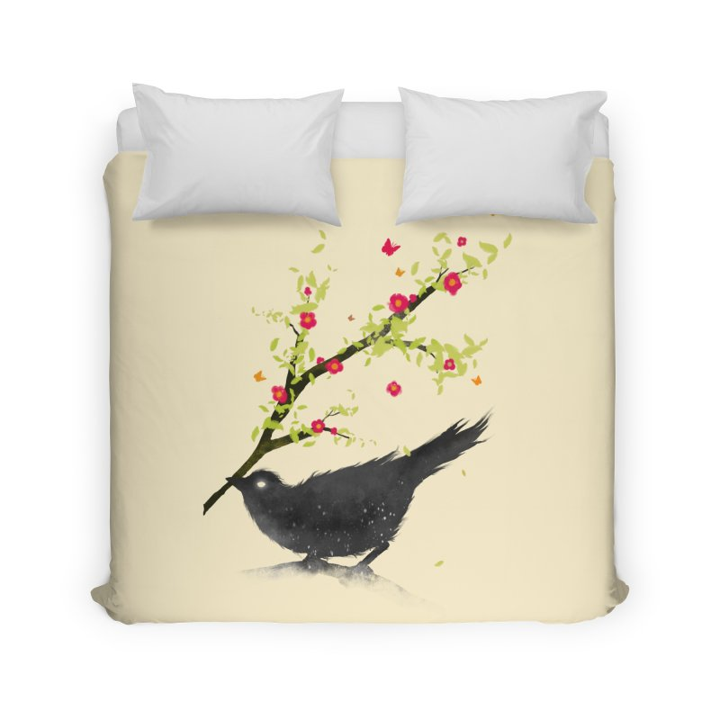 Spring Is Coming Home Duvet by nicebleed