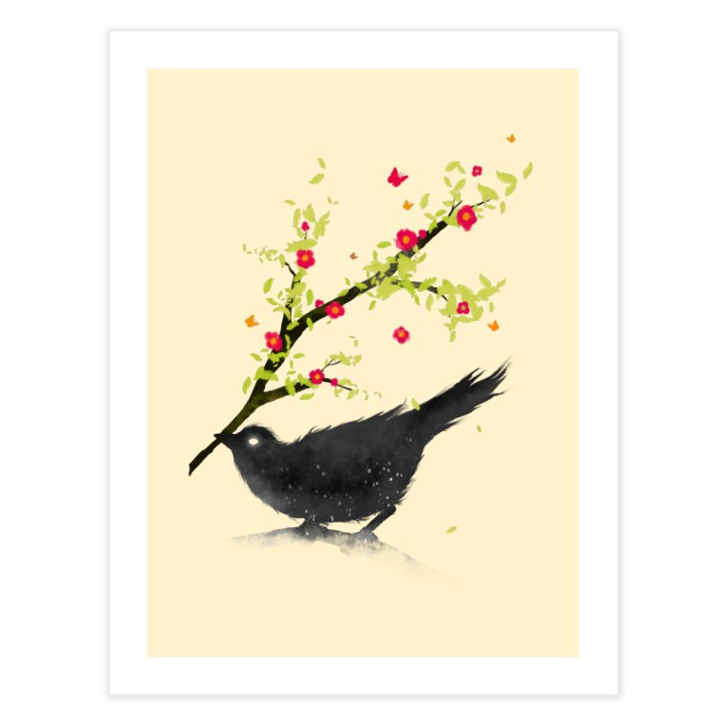 Spring Is Coming in Fine Art Print by nicebleed