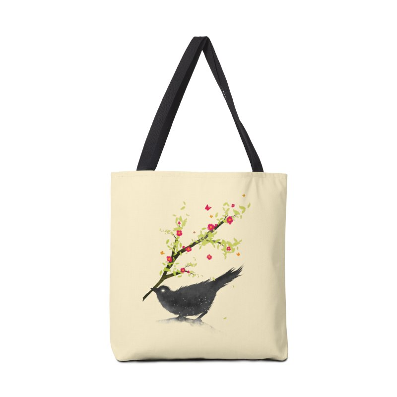 Spring Is Coming Accessories Bag by nicebleed