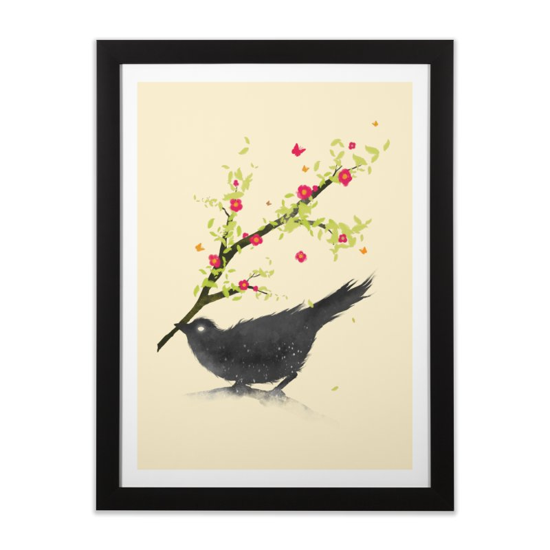 Spring Is Coming Home Framed Fine Art Print by nicebleed