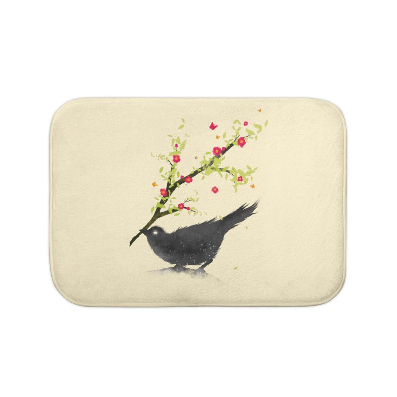 Spring Is Coming Home Bath Mat by nicebleed