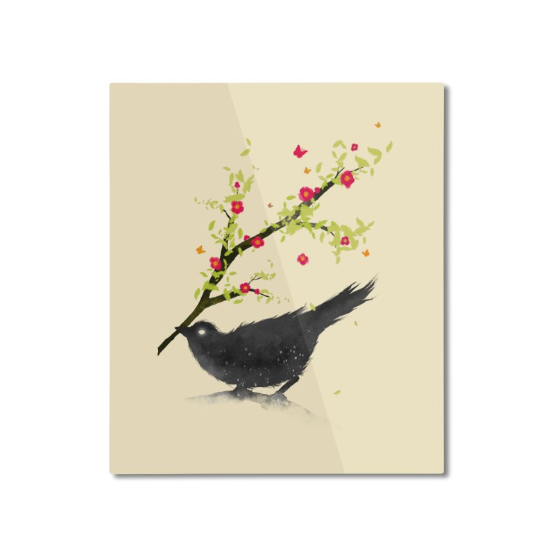 Spring Is Coming Home Mounted Aluminum Print by nicebleed