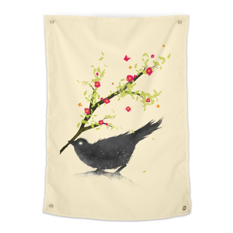 Spring Is Coming Home Tapestry by nicebleed