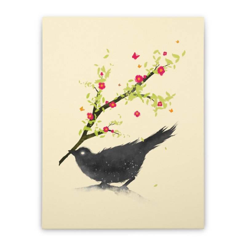 Spring Is Coming Home Stretched Canvas by nicebleed