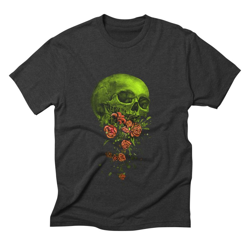 Vomit Men's Triblend T-Shirt by nicebleed