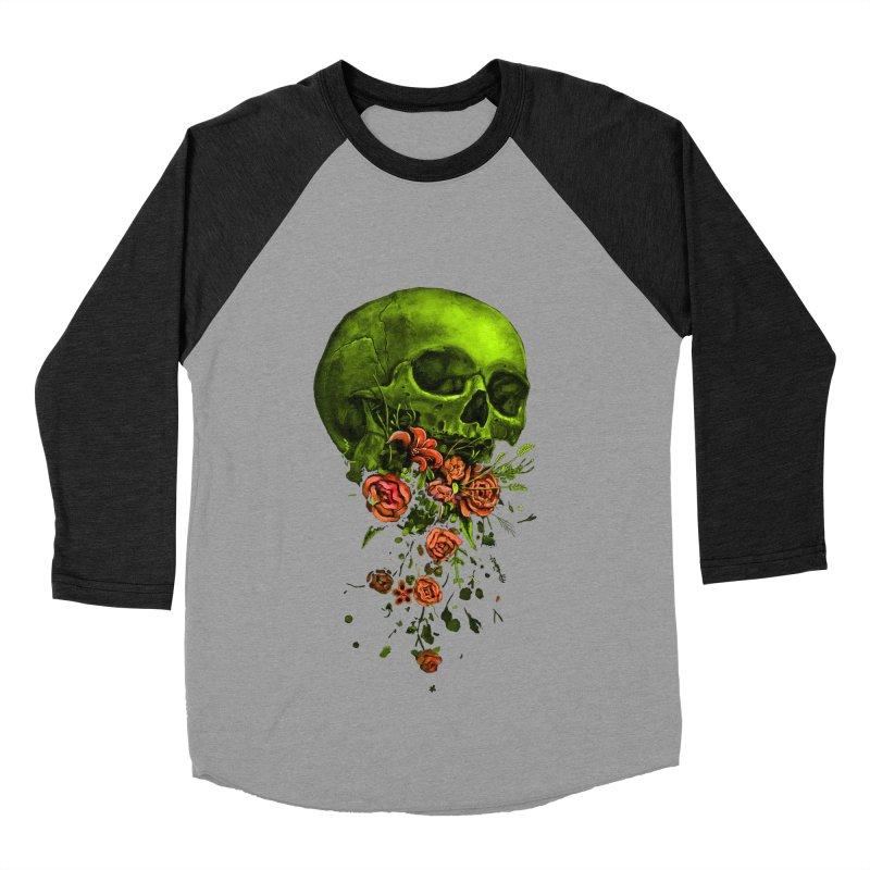 Vomit Women's Baseball Triblend T-Shirt by nicebleed
