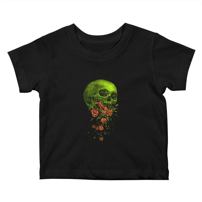 Vomit Kids Baby T-Shirt by nicebleed