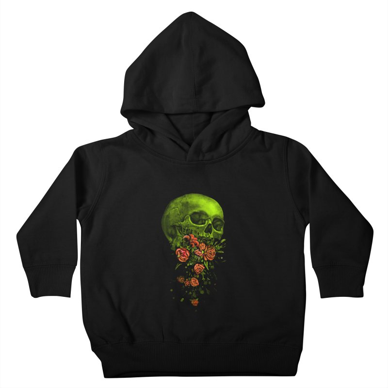 Vomit Kids Toddler Pullover Hoody by nicebleed