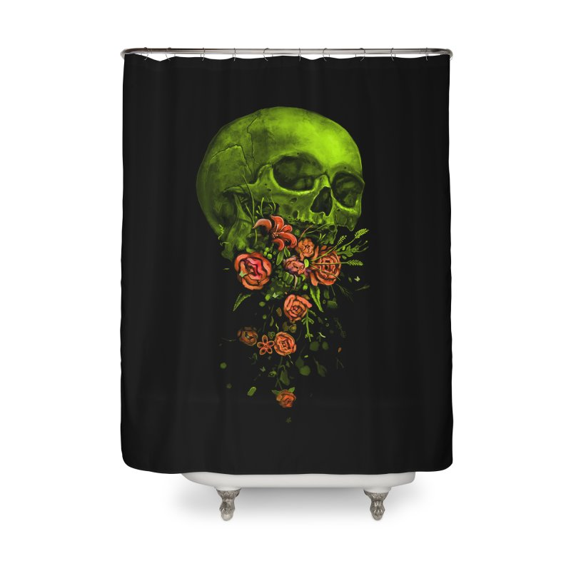 Vomit Home Shower Curtain by nicebleed