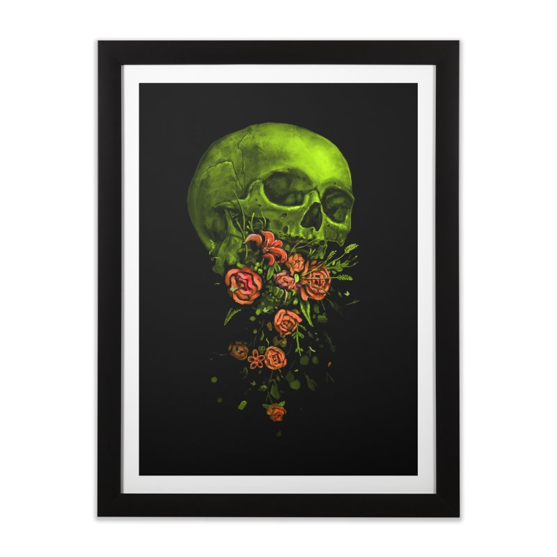 Vomit Home Framed Fine Art Print by nicebleed