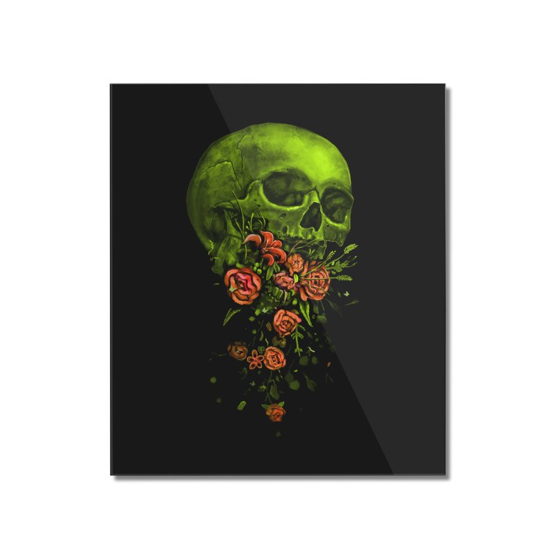 Vomit Home Mounted Acrylic Print by nicebleed