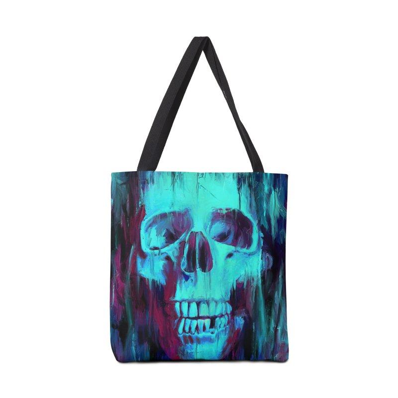 Calavera Painted Accessories Bag by nicebleed