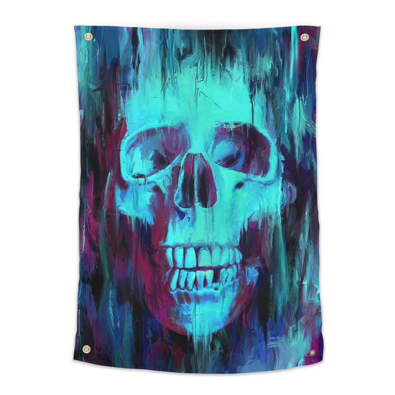 Calavera Painted Home Tapestry by nicebleed