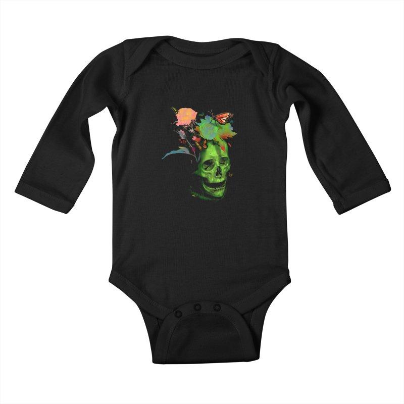 Rebirth Kids Baby Longsleeve Bodysuit by nicebleed