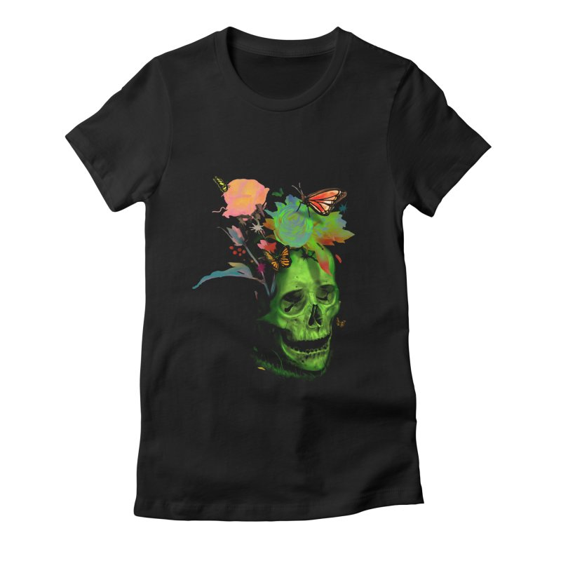 Rebirth Women's Fitted T-Shirt by nicebleed
