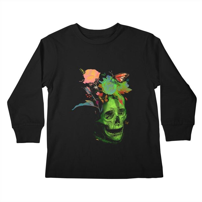 Rebirth Kids Longsleeve T-Shirt by nicebleed