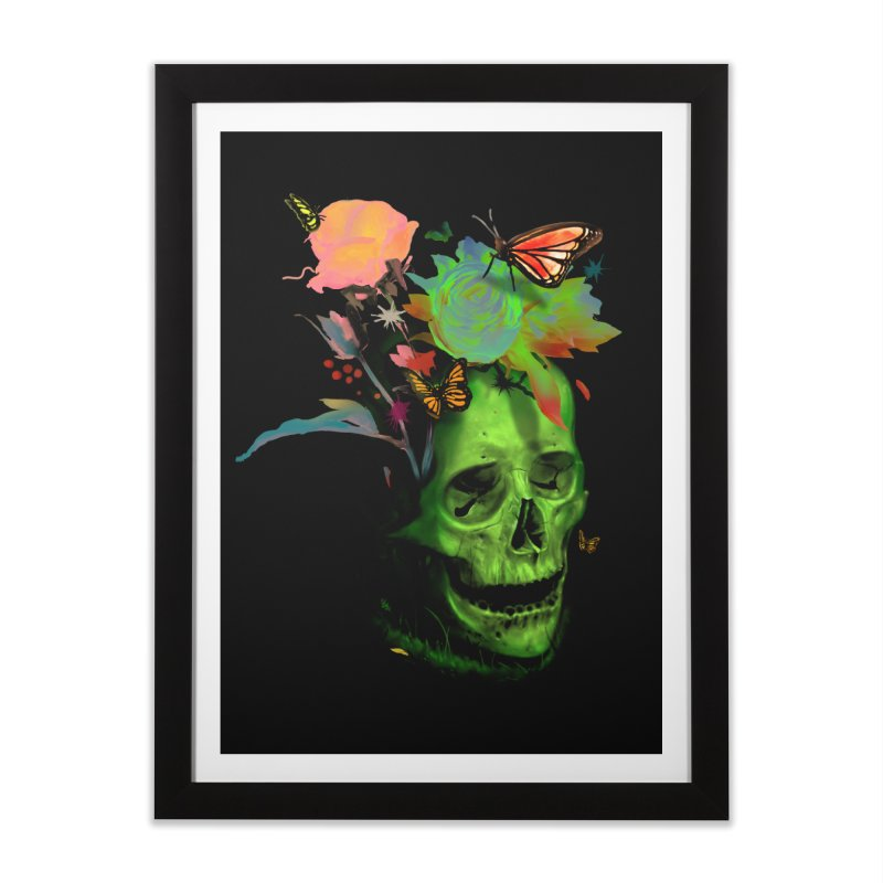 Rebirth Home Framed Fine Art Print by nicebleed