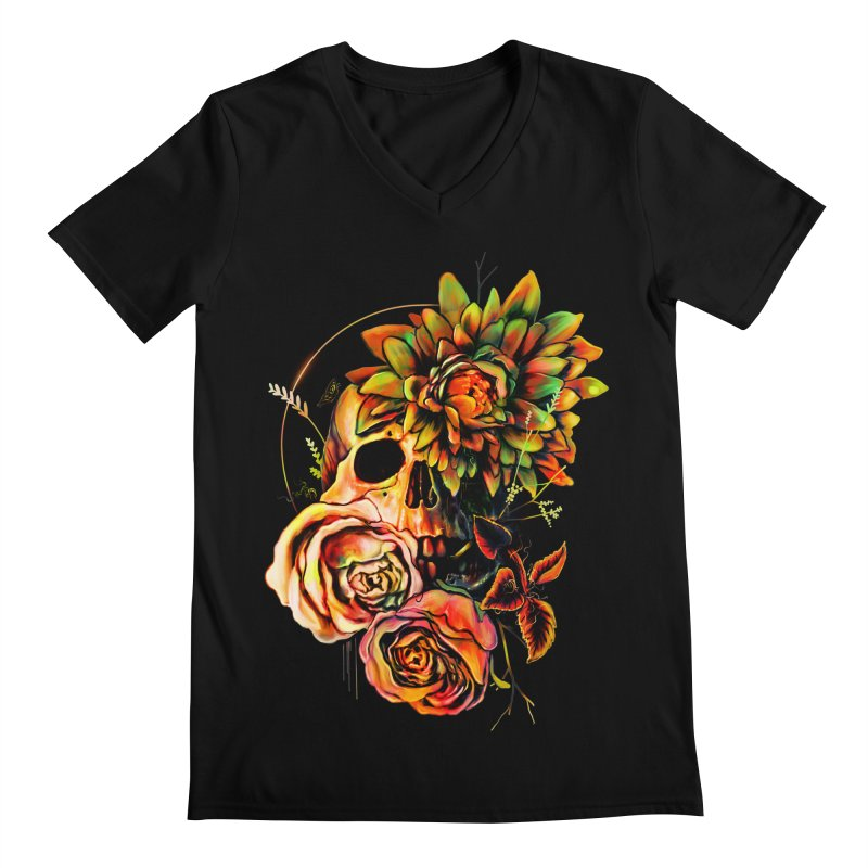 Life and Death Men's V-Neck by nicebleed