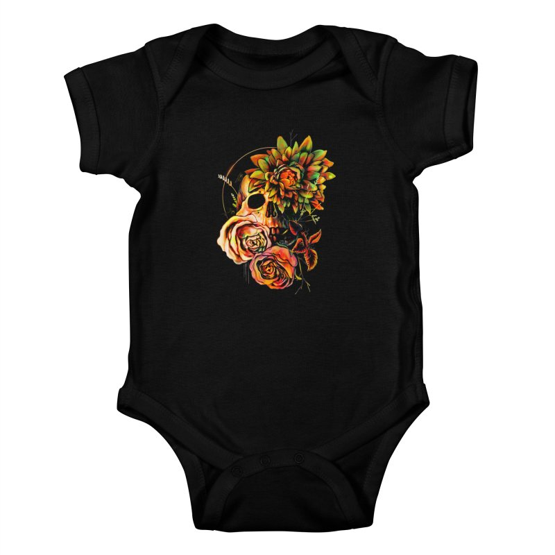 Life and Death Kids Baby Bodysuit by nicebleed