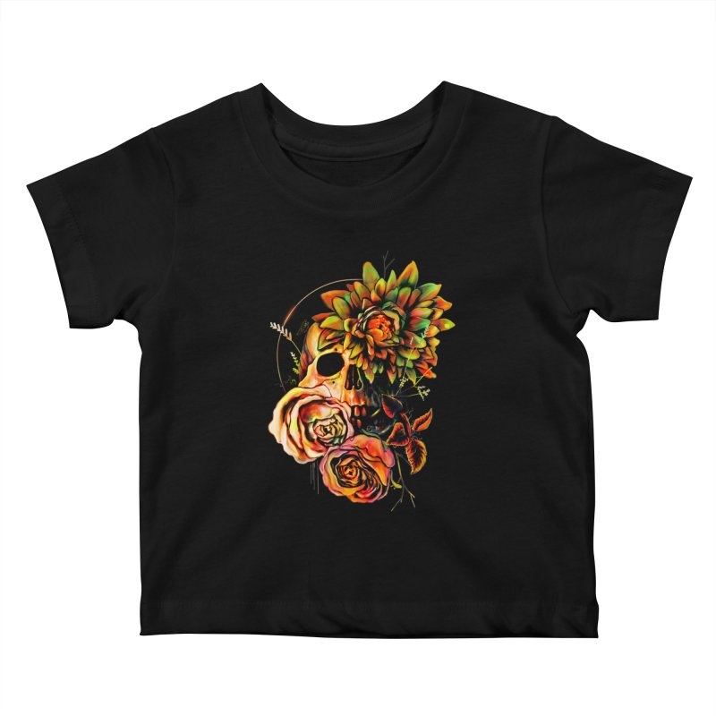 Life and Death Kids Baby T-Shirt by nicebleed