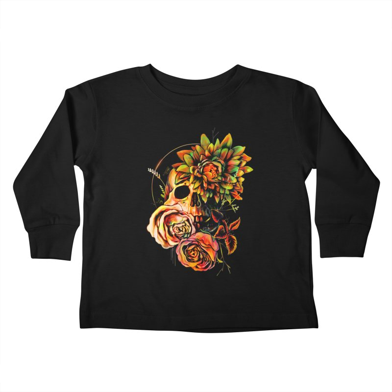 Life and Death Kids Toddler Longsleeve T-Shirt by nicebleed