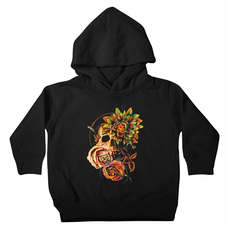 Life and Death Kids Toddler Pullover Hoody by nicebleed