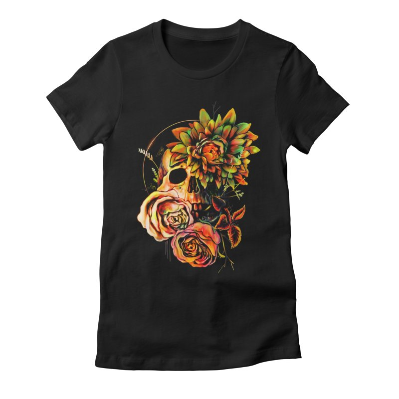 Life and Death Women's Fitted T-Shirt by nicebleed
