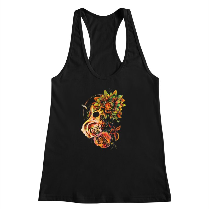 Life and Death Women's Racerback Tank by nicebleed