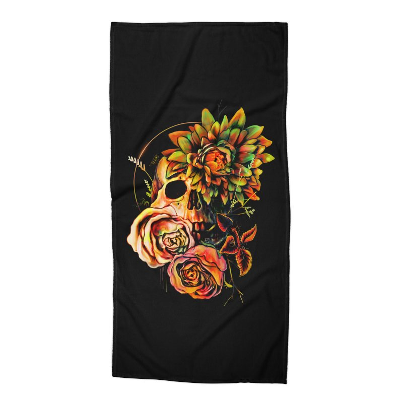Life and Death Accessories Beach Towel by nicebleed