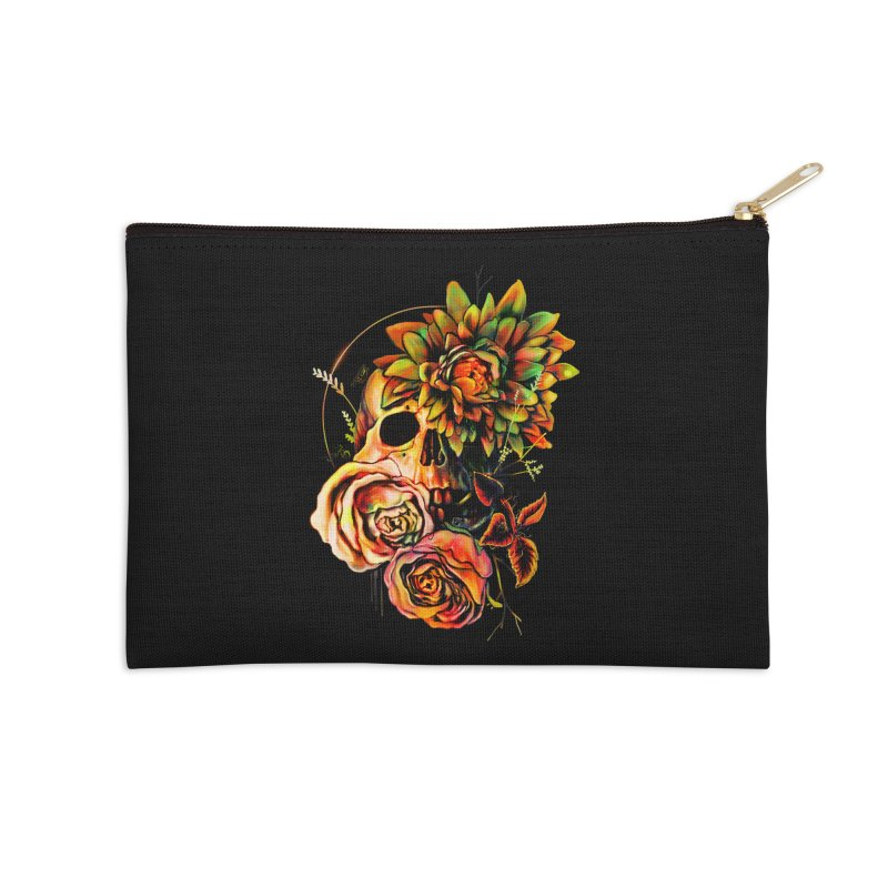Life and Death Accessories Zip Pouch by nicebleed