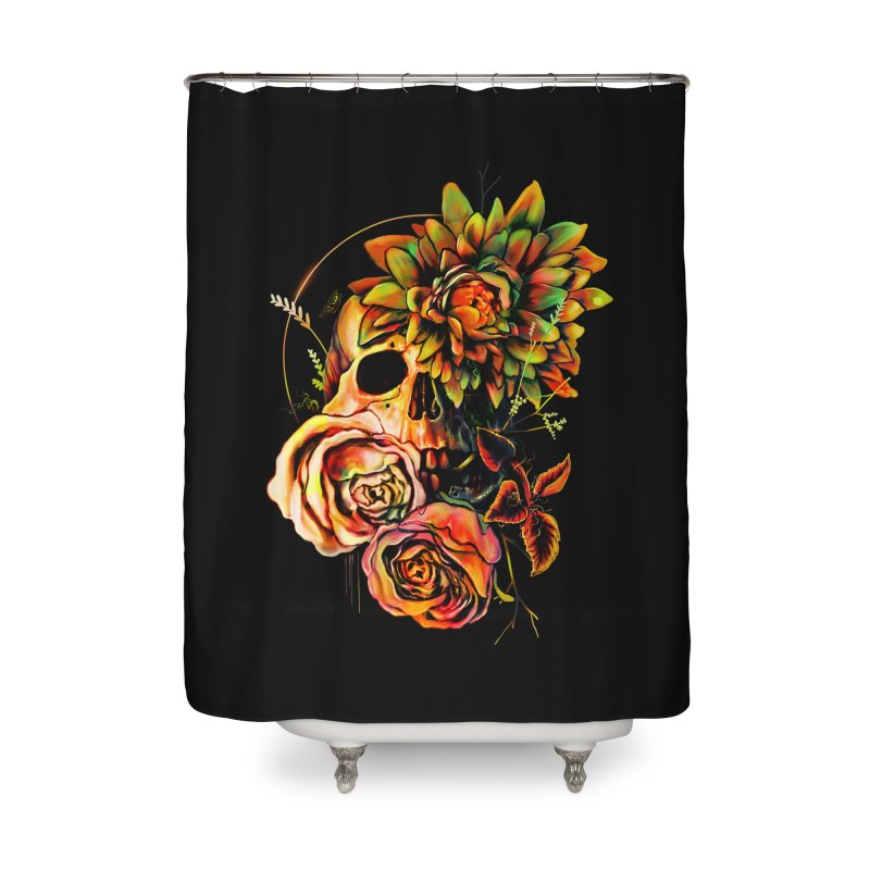 Life and Death Home Shower Curtain by nicebleed