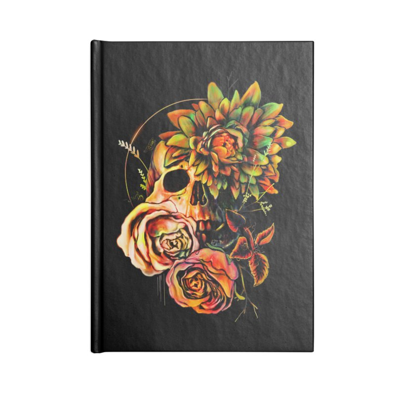 Life and Death Accessories Notebook by nicebleed