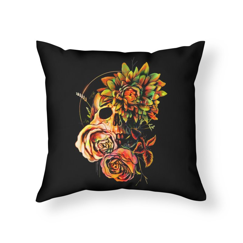 Life and Death Home Throw Pillow by nicebleed