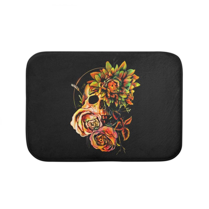 Life and Death Home Bath Mat by nicebleed