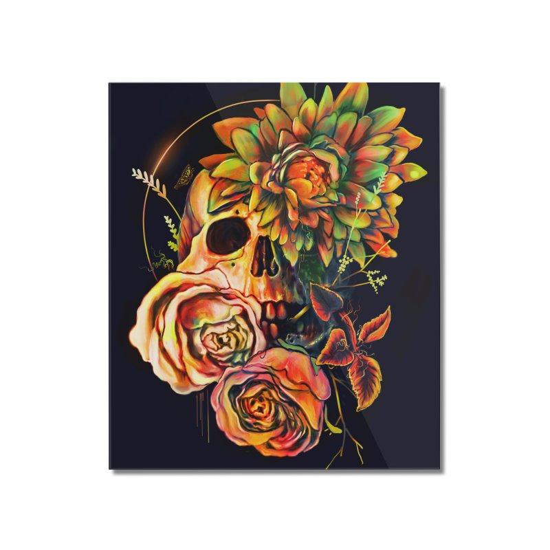 Life and Death Home Mounted Acrylic Print by nicebleed