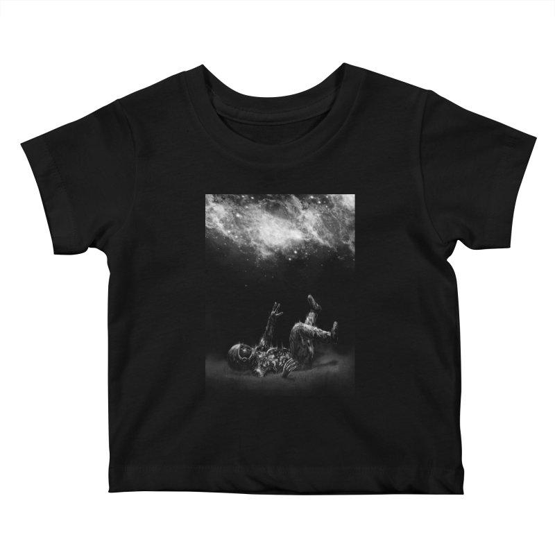 Far-off Kids Baby T-Shirt by nicebleed