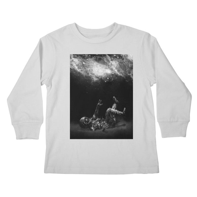 Far-off Kids Longsleeve T-Shirt by nicebleed