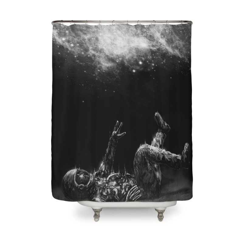 Far-off Home Shower Curtain by nicebleed