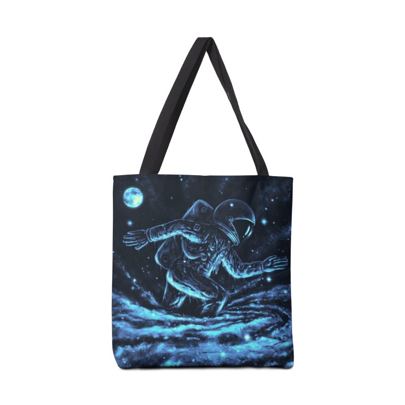 Caught in a Blackhole Accessories Bag by nicebleed