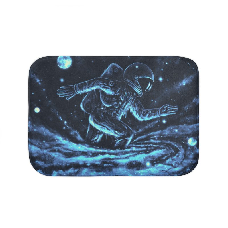 Caught in a Blackhole Home Bath Mat by nicebleed