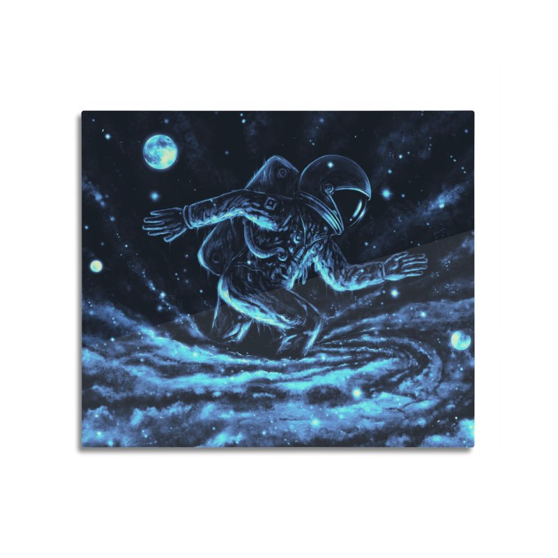 Caught in a Blackhole Home Mounted Acrylic Print by nicebleed