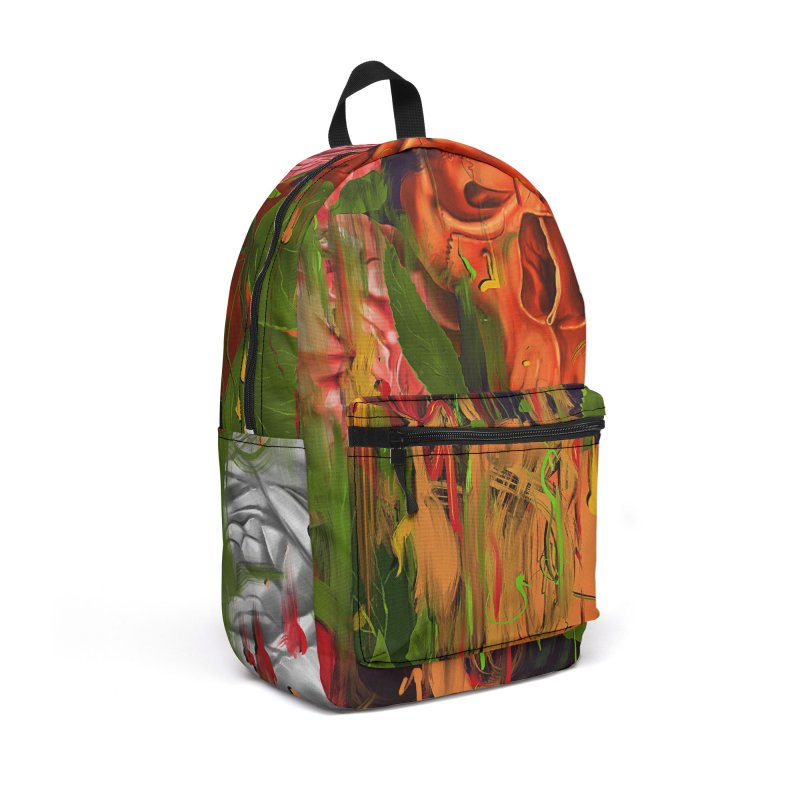 Colors of Death Accessories Backpack Bag by nicebleed