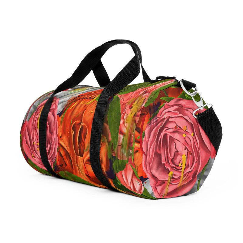 Colors of Death Accessories Duffel Bag Bag by nicebleed