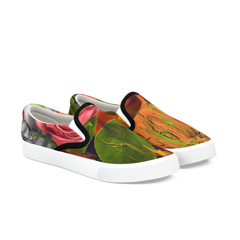 Colors of Death Women's Slip-On Shoes by nicebleed