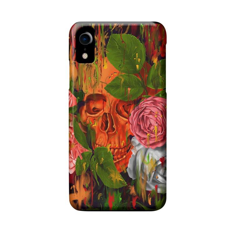 Colors of Death in iPhone XR Phone Case Slim by nicebleed